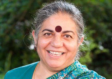 Vandana Shiva Zusammenhang zwischen Coronavirus, industrieller Landwirtschaft und Biodiversität