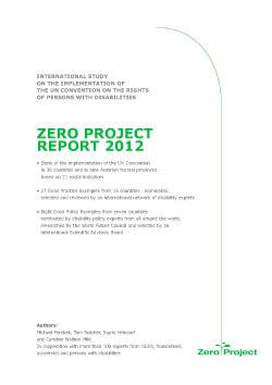 Zero_Project_report_2012