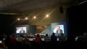 UN Secretary-General Ban Ki-moon addressing the Habitat III Conference in Quito, 17-20 Ocotber 2016