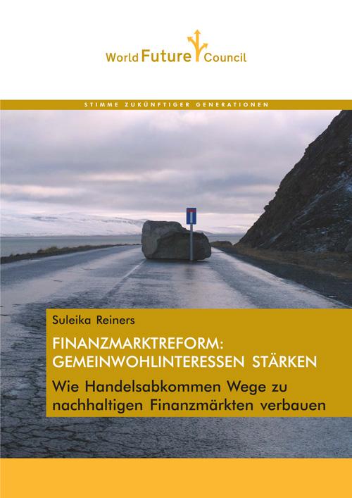 FINANZMARKTREFORM--GEMEINWOHLINTERESSEN-STÄRKEN