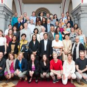 WFC Ratsmitglieder und Mitarbeiter bei der 7. Jahresversammlung in Bonn