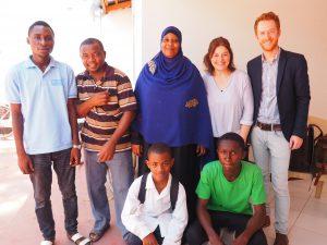 Rights of Children Team in Zanzibar