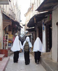 School Girls Zanzibar