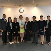 chinesische Delegation in Maryland