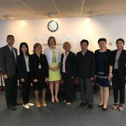 chinesische Delegation in Maryland