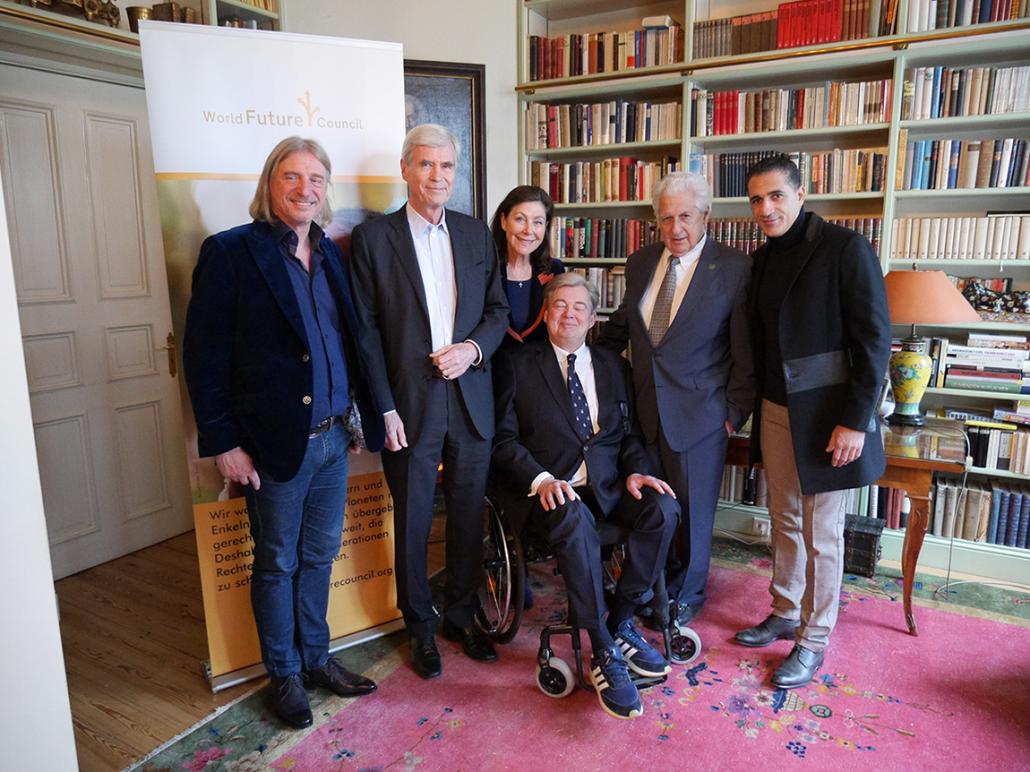 World Future Council: Unterstützer der Stiftung zusammen auf einem Bild