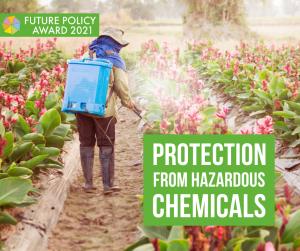 Hazardous chemicals pesticides sprayer