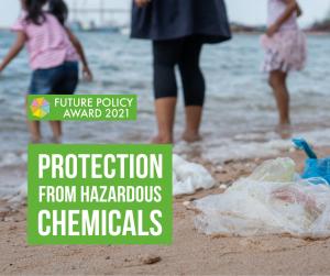 Hazardous chemicals pollution children