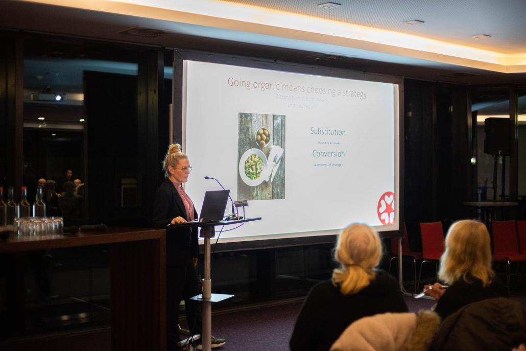 gesunde und umweltfreundliche Ernährung: Emma Peyron, Copenhagen House of Food präsentiert