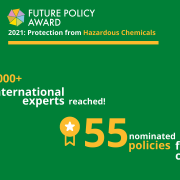 Future Policy Award: 55 candidates nominated