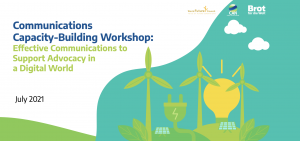 climate communications workshop cover image